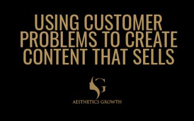 Using Customers Problems To Create Content That Sells | Blow Up Your Aesthetics Clinic